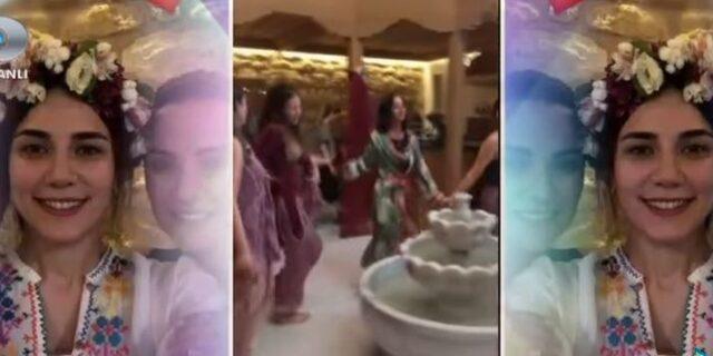 Alişan'ın sevgilisi Buse Varol kınasından paylaştı