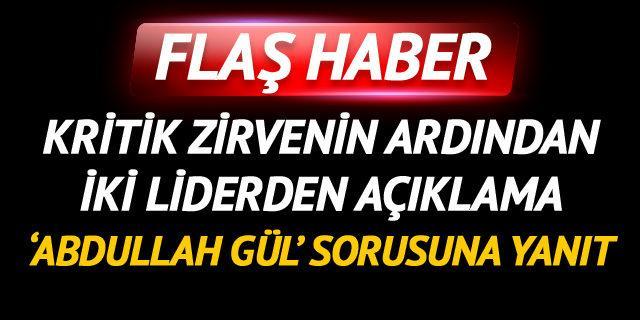 Kılıçdaroğlu ve Karamollaoğlu arasında kritik görüşme