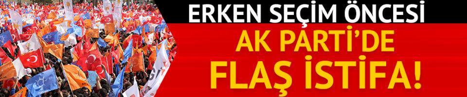 AK Parti Kayseri İl Başkanı Hüseyin Cahit Özden istifa etti