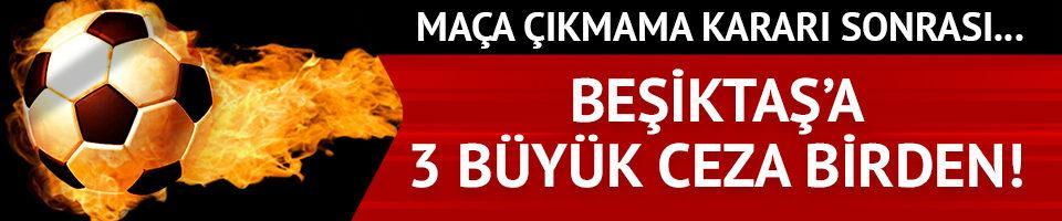 Beşiktaş'ın alacağı ceza belli oldu!