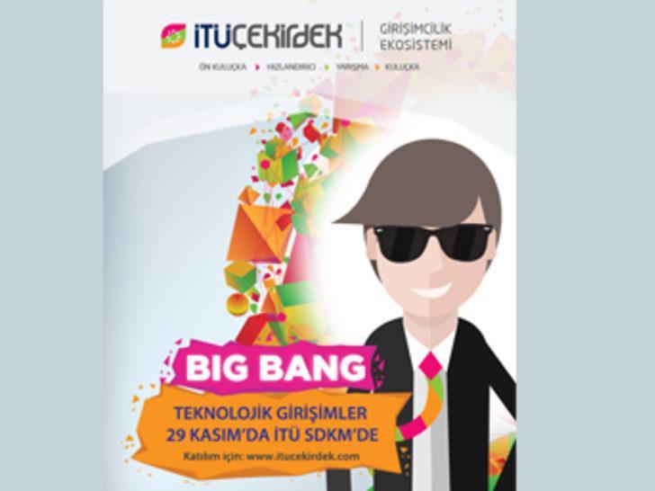 İTÜ Çekirdek Big Bang : Teknolojik Girişimler Sahnede