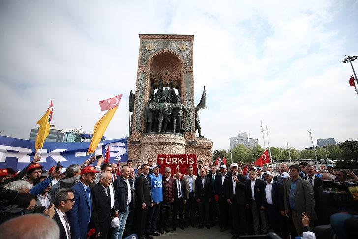 Sendikalar Taksim'de (1)