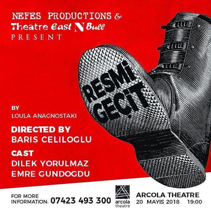 """Tiyatro EastNBull'dan """"Resmi Geçit"""" 20 Mayıs'ta Londra'da sahnelenecek"""