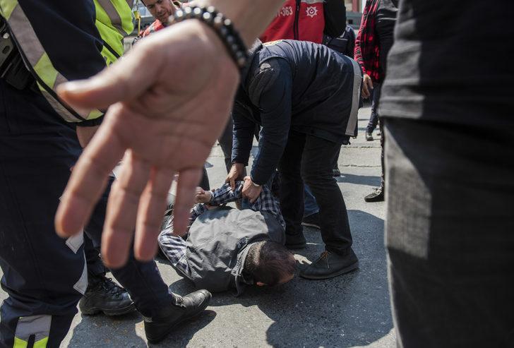 - Taksim Meydanı'na girmeye çalışan 4kişi gözaltına alındı