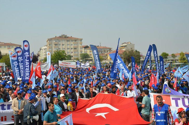 Gebze'de 1 Mayıs kutlaması