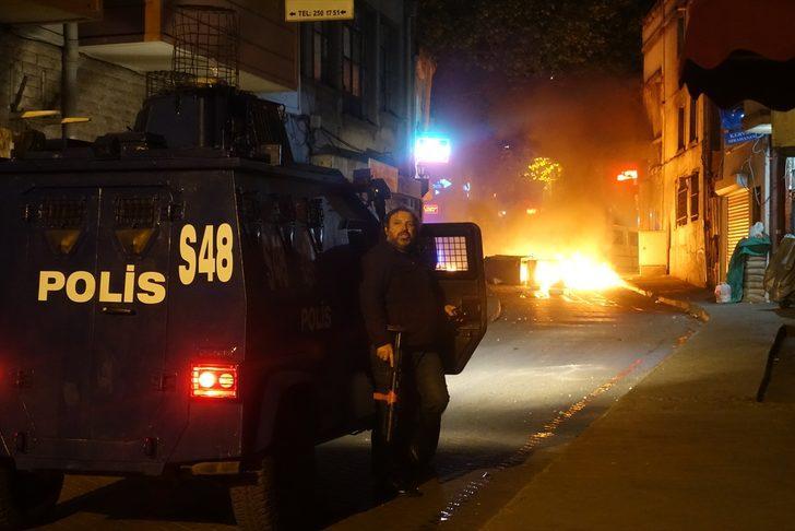 İstanbul'da olaylı gece!