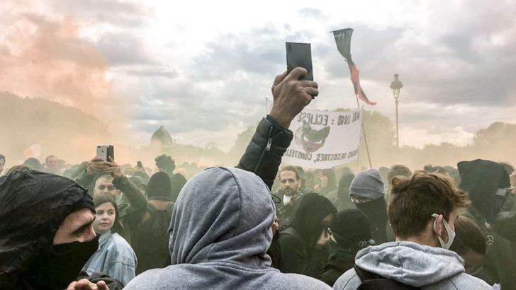Paris 1 Mayıs'ta Savaş Alanına Döndü