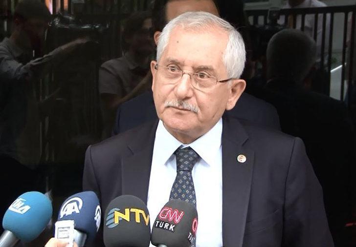 YSK Başkanı Güven'den askerlerin oy kullanmasına ilişkin açıklama