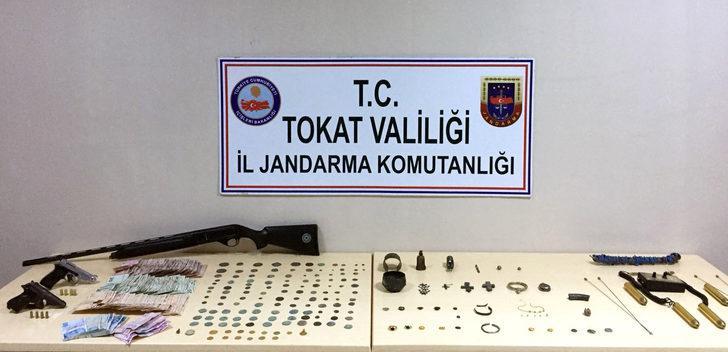 Tokat'ta tarihi eser operasyonu: 4 gözaltı