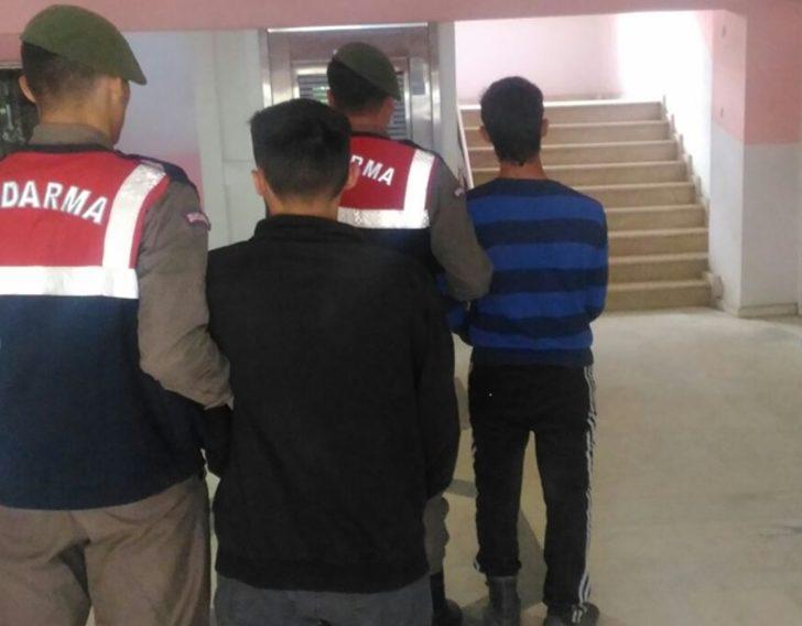 Kayseri'de kablo hırsızlığına 2 tutuklama