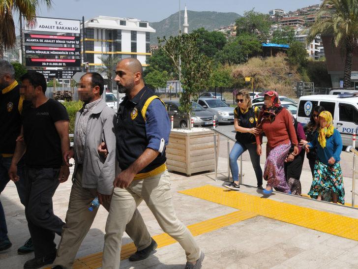 Alanya'daki çifte ölüm dosyası yeniden açıldı: 5 gözaltı