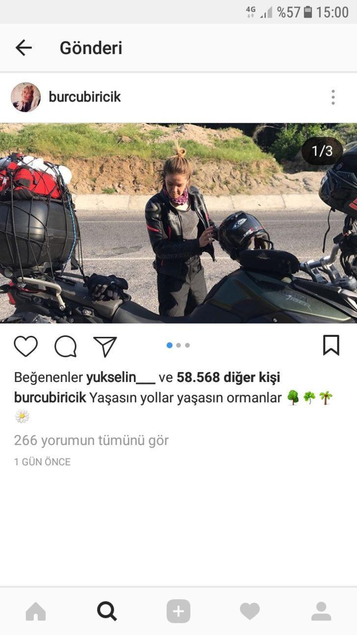 Oyuncu Burcu Biricik ve eşi kazada yaralandı