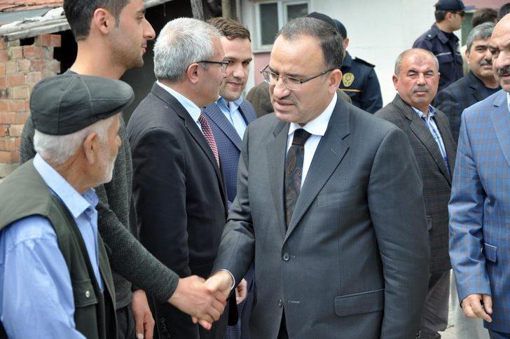 Bozdağ, Yozgat'ta cenaze törenine katıldı