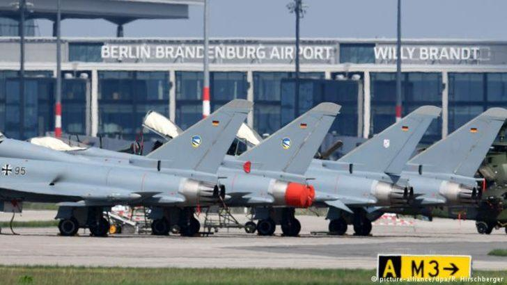 Alman ordusunda Eurofighter krizi