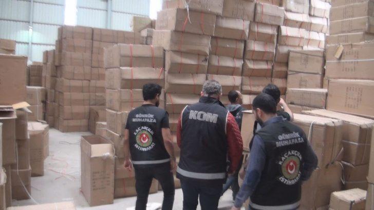 Kocaeli'de 4,5 milyon liralık kaçak oyuncak ele geçirildi