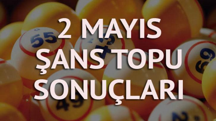 2 Mayıs Şans Topu sonuçları: 2 kişiye 395 bin lira!