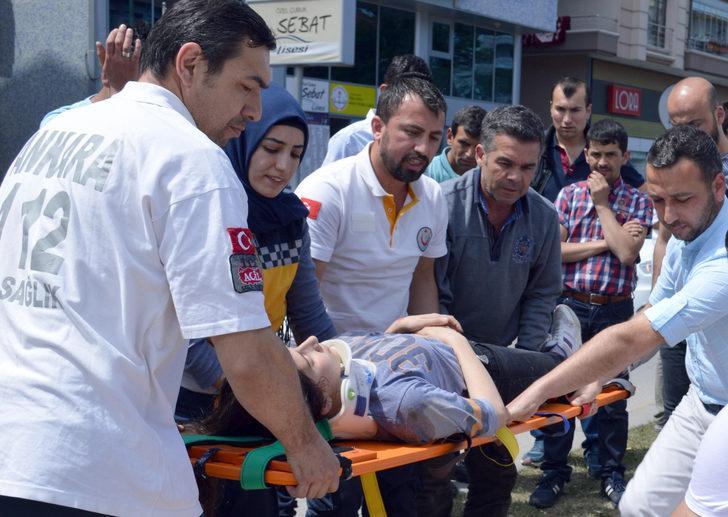 Ankara'da 16 yaşındaki kıza çarpan ehliyetsiz motosikletliye para cezası