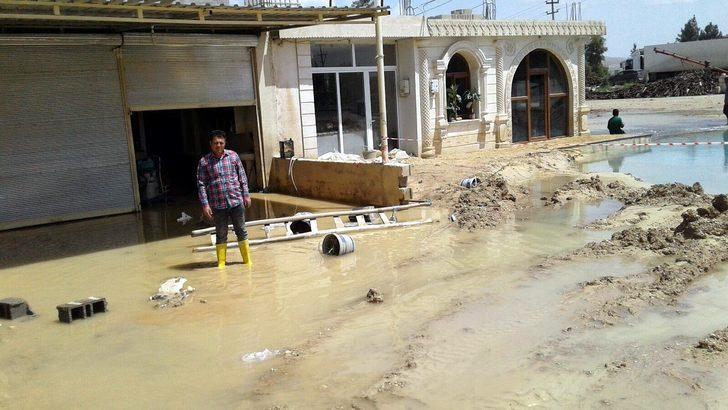 Nusaybin'de taşkın mağduru esnaf yardım bekliyor