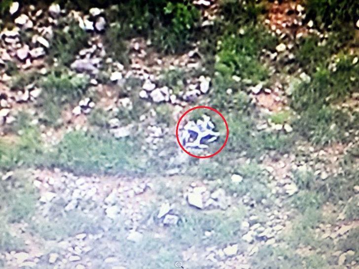 Irak'ta teröristlere ait 'drone' düşürüldü