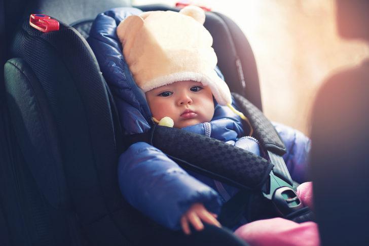 Çocukla keyifli ve güvenli araba yolculuğu