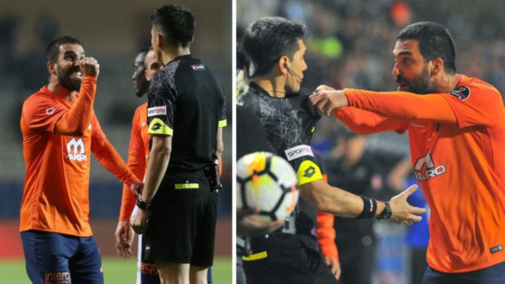 """Arda Turan, Sivas maçında yardımcı hakeme yönelik fiili müdahale içeren """"sportmenliğe aykırı hareketi"""" ve.."""