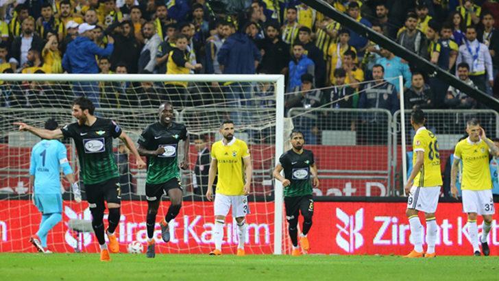 MAÇ ÖZETİ | Teleset Mobilya Akhisarspor 3 - 2 Fenerbahçe (Ziraat Türkiye Kupası'nda şampiyon Akhisarspor)