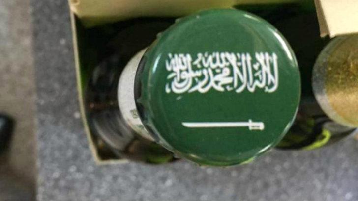 Alman bira firmasından skandal! Bira şişesine 'La İlahe İllallah' yazıp piyasaya sürdüler