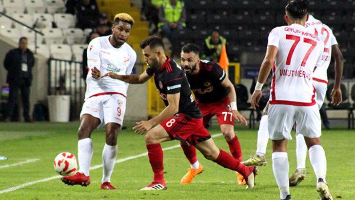 Gazişehir Gaziantep 1 - 0 Boluspor (Maç özeti)