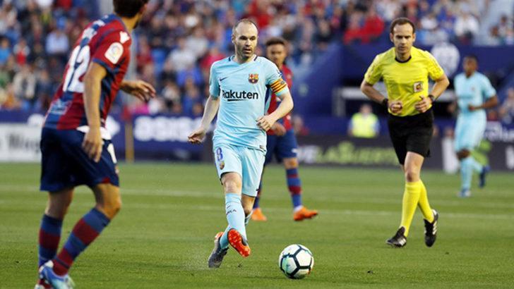 Levante 5 - 4 Barcelona (Maç özeti)