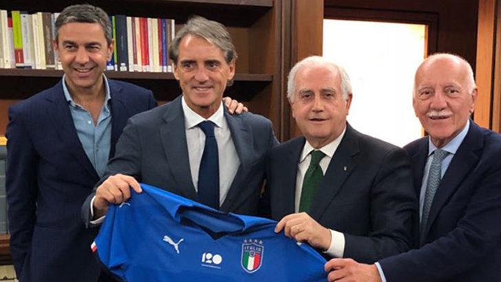 Roberto Mancini İtalya Milli Takımı ile sözleşme imzaladı!