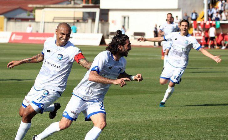 Finale ilk bilet Erzurumspor'un