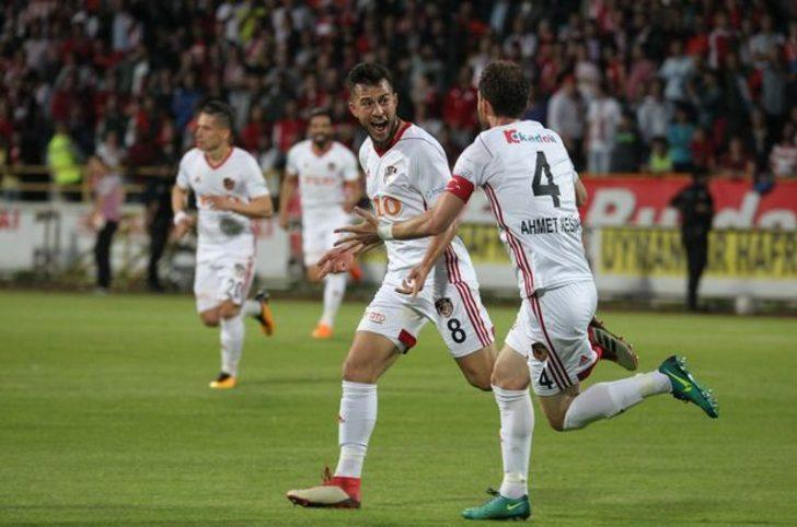 Boluspor 1 - 3 Gazişehir Gaziantep maç özeti