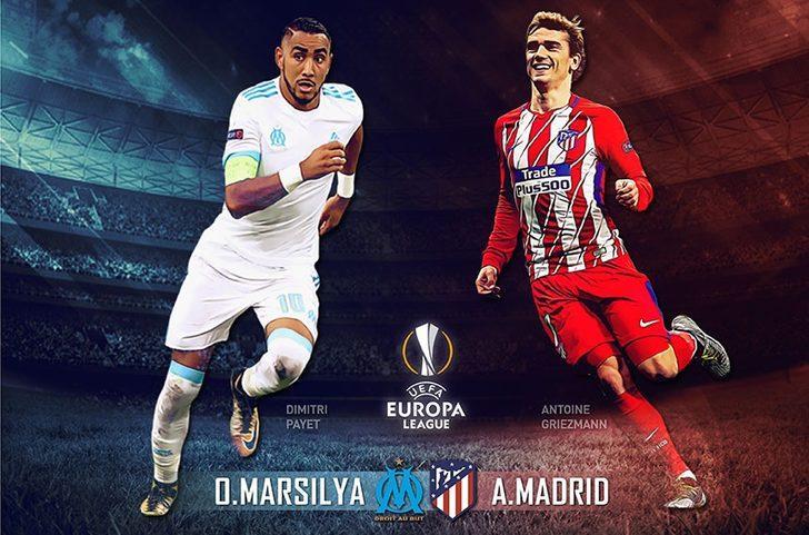 UEFA Avrupa Ligi final maçı: Marsilya - Atletico Madrid maçı ne zaman, saat kaçta, hangi kanalda?  (Şifresiz canlı izle)