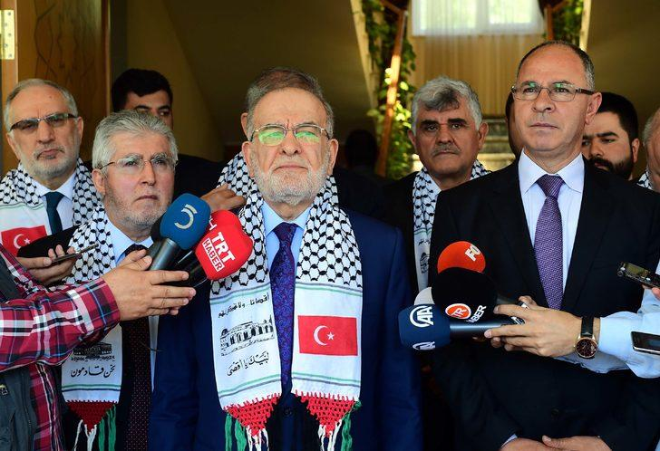 Karamollaoğlu: İsrail'e karşı yaptırımlara ihtiyaç var