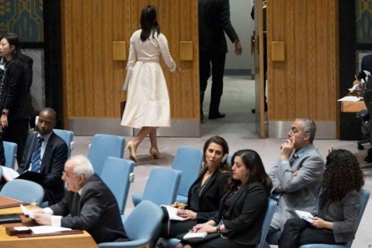 BM'de büyük skandal! Toplantıyı terk etti