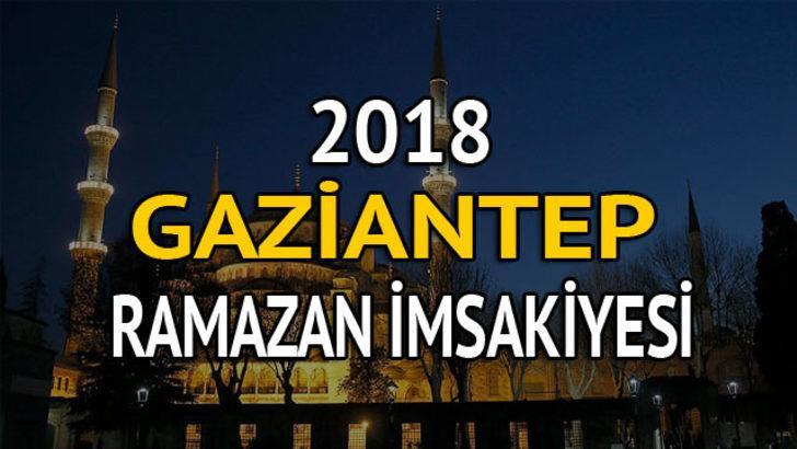 Gaziantep Iftar Vakti 2018 Iftara Ne Kadar Kaldi 2018