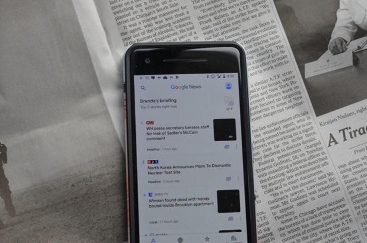 Google Haberler (Google News) yenilendi! Yapay zeka destekli Google Haberler uygulaması yayında