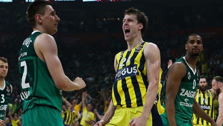 Fenerbahçe Doğuş 76 - 67 Zalgiris Kaunas (MAÇ ÖZETİ)