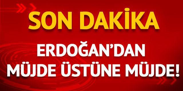 Erdoğan, Bosna Hersek'te müjdeleri sıraladı