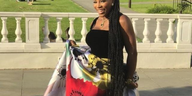 Serena Williams'ın kraliyet düğünü kıyafetindeki 'küçük sır'