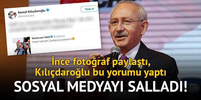 Kılıçdaroğlu'ndan İnce'ye: Recep Bey'i de alın, emeklilik işlemlerini başlatsın