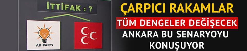 Ankara bu senaryoyu konuşuyor! Tüm dengeler değişecek