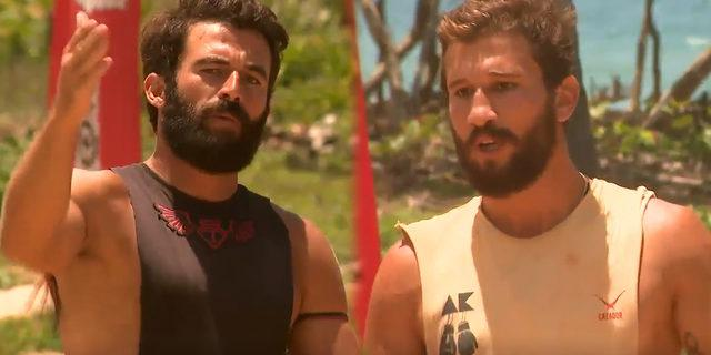 Survivor'da Adem'den Turabi'ye şok sözler 'Yalandan oynaşıyorsun. Kahramanlık rollerini bırak'