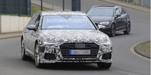 Audi S6 yenilenen tasarımıyla sene sonunda geliyor