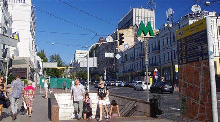 Son dakika! Kiev'de bomba paniği!