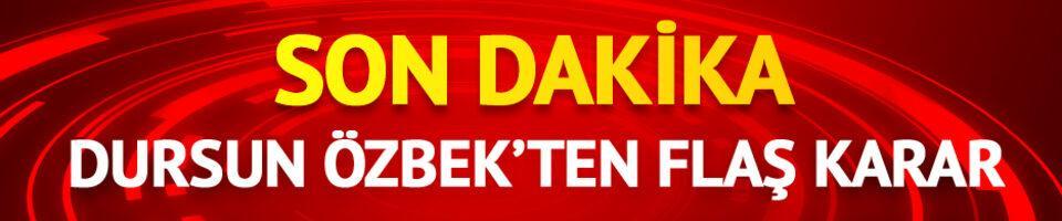 SON DAKİKA Dursun Özbek, Galatasaray Lisesi'nden ayrıldı
