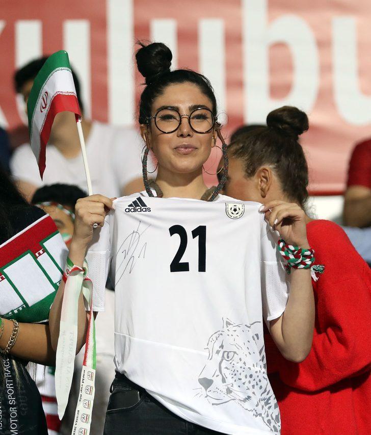 Türkiye - İran maçına damga vurdular