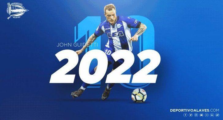 JOHN GUIDETTI | Celta Vigo > Alaves| BONSERVİS BEDELİ: 4 milyon Euro