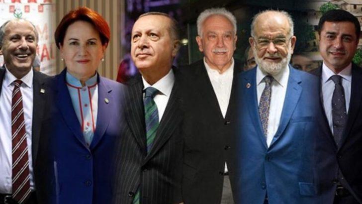 24 Haziran seçimleri için son anket sonuçları! AK Parti'nin MHP'nin HDP'nin İyi Parti'nin oy oranı