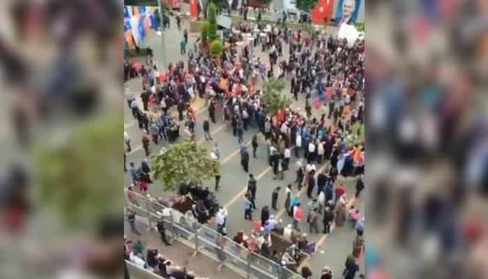 AK Parti'nin Giresun ve Ordu mitinglerinde alanlar boş kaldı